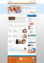 New Jersey Cosmetic Dentist Website