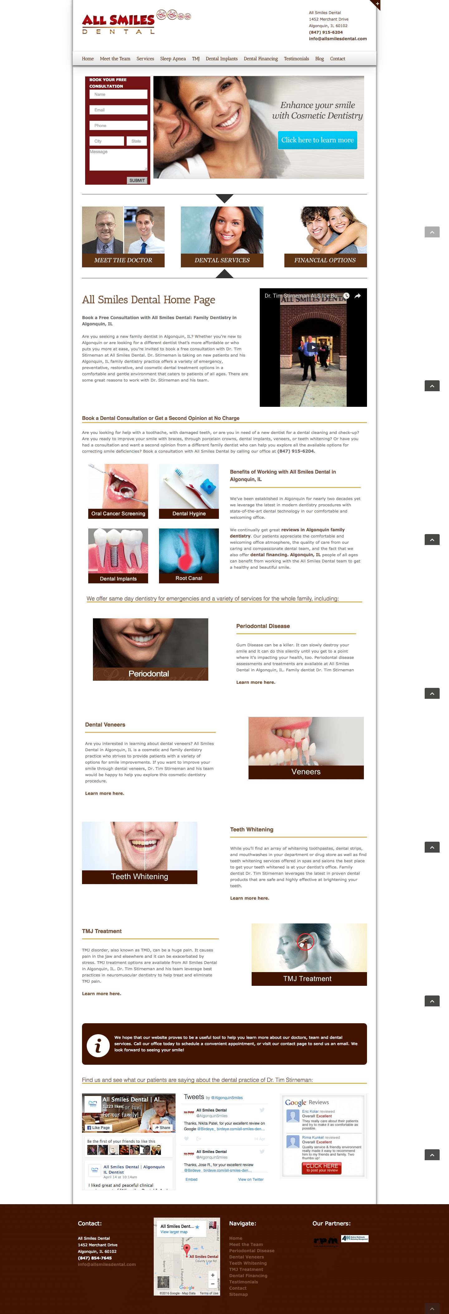 Website Family Dentist, Algonquin, IL | All Smiles Dental